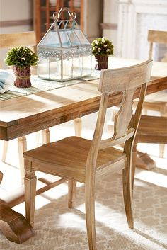 Charming From Pier1.com · Traditional Meets Subtle Rustic For Casual Or Formal  Dining. Crafted With Hardwoods, Our Handsome