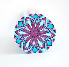 Polymer Clay Cane Kaleidoscope raw and unbaked cane round