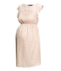 Cute example for VANESSA <3 Cute maternity lace dress.