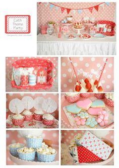 cath kidston party  @ little lemonade party http://little-lemonade.com