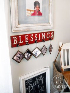 Lake Girl Paints: Making A Blessings Board