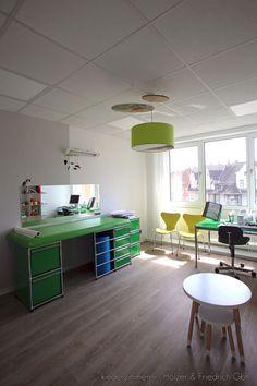 kinderarzt - heiden | thöne innenarchitektur | farbgestaltung, Innenarchitektur ideen