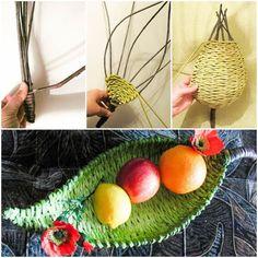 DIY Beautiful Paper Woven Tray 1