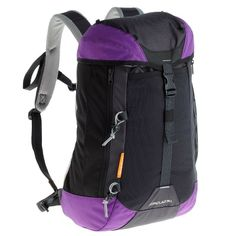 Backpacks Sports Bags and Luggage - Forclaz 30 Hiking Backpack, Purple/Black QUECHUA - Luggage and Backpacks