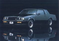 87 Buick Grand National GNX one of the coolest cars ever built! New Buick Grand National, My Dream Car, Dream Cars, Beni Bischof, Pt Cruiser, Buick Regal, Us Cars, Lowrider, Rat Rods