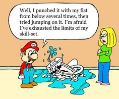 Mario always know exactly what to do. #plumbing #FischerPlumbing