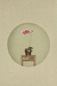 Sun Jun - Photography of New Literati painting - Small flower