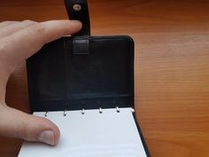 Tony Perotti - kožený karisblok(diár) veľkosti: - s čistou nelinkovanou Mini S, Wallet, Purses, Diy Wallet, Purse