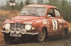 S. Blomqvist - Saab 96 V4 (RAC Rally)