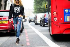 On the Streets of London Fashion Week Spring 2015 - London Fashion Week Spring 2015 Day 5