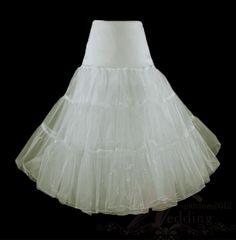 White 50s Rock Wedding Petticoats Bridal Accessories Tulle Slip TUTU on AliExpress.com. $23.99