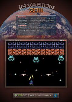 Composición space invader versión 2011