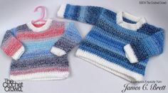 Free Pattern Incredible Baby Sweater + Video Tutorial - The Crochet Crowd Crochet Baby Sweaters, Crochet Hoodie, Crochet Baby Clothes, Baby Knitting, Preemie Crochet, Crochet Crowd, Free Crochet, Toddler Sweater, Crochet For Boys