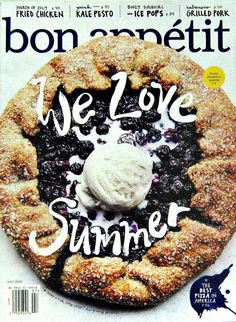 4th Of July Fried Chicken, Bon Appetit, July 2015, Volume 60 Number 7
