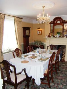 Edwardian Dining Rooms