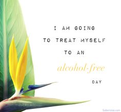Alcohol-free, living, sober