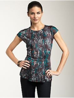 b811b89aa94 This would look lovely with a pencil skirt and blazer. Or pants and blazer.