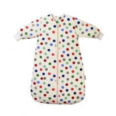 Winter Travel Sleeping Bag with Sleeves Bubble Dot