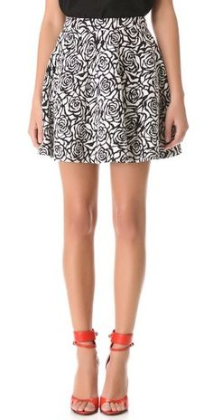 Nicholas Rose Circle Skirt