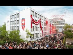 Саентология в Швейцарии - официальная церемония открытия церкви в Базеле