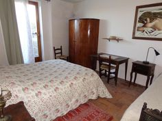 One of the comfortable double bedroom of the Borghetto