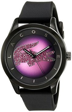 8b297b67230f Lacoste Victoria 2000918 Wristwatch for women With crystals   Check out the  image by visiting the link.