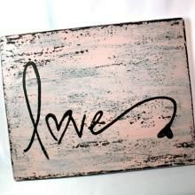 rustic love signs - Google Search