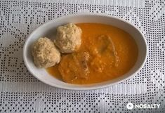 Vadas marhanyelv maceszgombóccal Food And Drink, Pudding, Ethnic Recipes, Desserts, Tailgate Desserts, Deserts, Puddings, Postres, Dessert