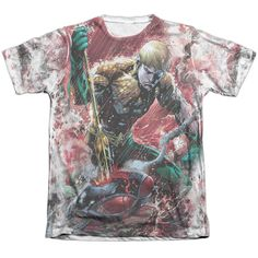 """Checkout our #LicensedGear products FREE SHIPPING + 10% OFF Coupon Code """"Official"""" Jla/aquaman Vs Manta -adult Poly/cotton S/s T- Shirt - Jla/aquaman Vs Manta -adult Poly/cotton S/s T- Shirt - Price: $24.99. Buy now at https://officiallylicensedgear.com/jla-aquaman-vs-manta-adult-poly-cotton-s-s-t-shirt-licensed"""