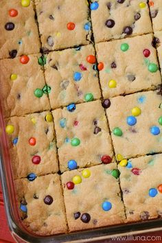 Simple and delicious Cake Mix Cookie Bars with M&M'S - a great go-to recipe!