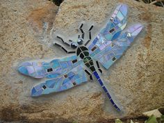 Dragonfly rock by Elegantly Toasted, via Flickr