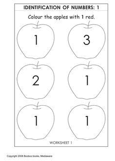 printable kindergarten worksheets - Printable For Kindergarten