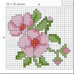 Ponto Cruz-Cross Stitch-Punto Cruz-Punto Croce-Point de Croix-220