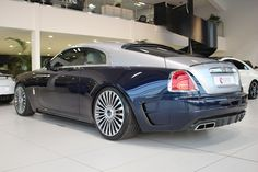 Rolls-Royce Wraith on Mansory wheels!!
