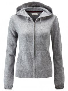 howies - Meddal Lambswool Cashmere Knitted Hoodie