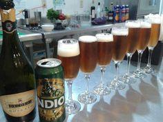 Cerveza indio + champagne