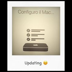 Updating... #apple #Mac #MacMini #iOS #OSX #computer #geek #geekstuff #computers #macworld #cupertino