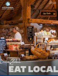 Cruise global eat Local guide to authentic local restaurants around the globe #AzamaraCruises