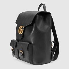Gucci GG Marmont leather backpack Detail 2