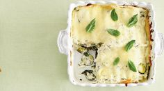 Zucchini-and-Spinach Lasagna | Homemade hospitality. Despite the ease of texting, emailing, and ordering online, Southerners still believe in doing some things the old-fashioned way. Southern etiquette and hospitality will never be taken over by technology, which is why traditions like writing thank you notes, going to church, and bringing casseroles to your neighbors are still around. Whether a new neighbor just moved in, a current neighbor had a death in the family, or an old neighbor is