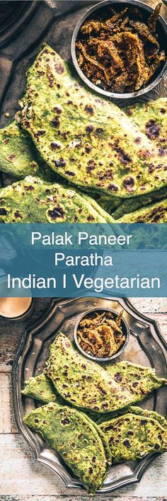 Here is How to make Palak Paneer Paratha, an Indian flat bread which is as delicious as Palak Paneer Sabzi and is super easy to make as well. Healthy Indian Recipes, Healthy Bread Recipes, Yummy Recipes, Recipies, Paratha Recipes, Paneer Recipes, Flour Recipes, Palak Paratha, Palak Paneer