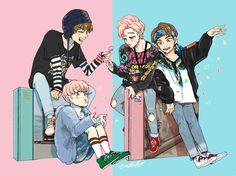 7 fan arts de los integrantes de BTS que te dejarán sin aire de tanto talento