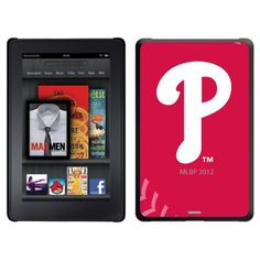 Philadelphia Phillies - stitch design on Thinshield Case for Amazon Kindle Fire by Coveroo. $39.95. This hard shell polycarbonate case offers a slim fit form factor, while covering the back and sides of your Kindle Fire