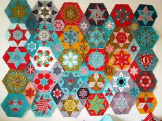 LA Hexagons & Stars all blocks and diamonds FINISHED