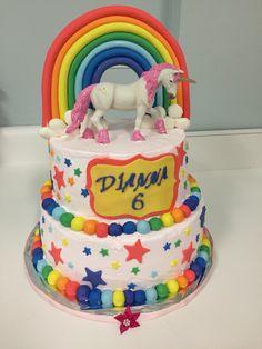 Unicorn cake made by me