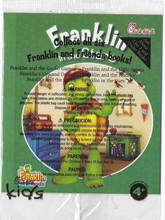 FRANKLIN in the Stars! Chick Fill A 2014 NEW & Sealed