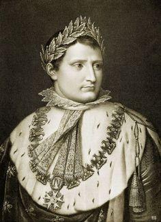 hadrian6:  Napoleon in his coronation attire. c.1800. French Engraving. http://hadrian6.tumblr.com