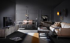 Sofa Design, Sofas, Conference Room, Contemporary, Table, Inspiration, Furniture, Lifestyle, Home Decor