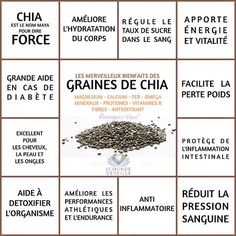 Tips for Anti Diet Solution - Les Bienfaits de la Graine de Chia Proper Nutrition, Sports Nutrition, Healthy Nutrition, Healthy Tips, Nutrition Classes, Nutrition Activities, Paleo Diet, Healthy Foods, Sante Bio