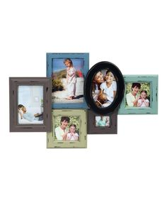 Look at this Vintage Six-Photo Collage Frame on #zulily today!